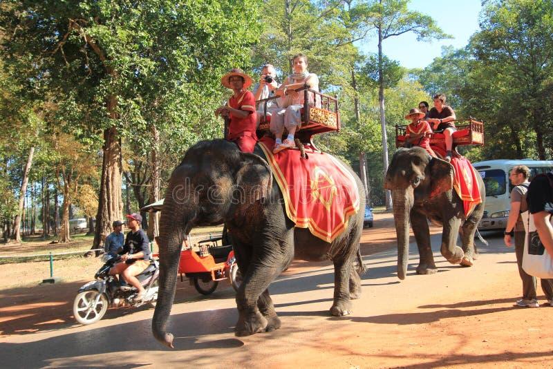 Η άποψη οδών σε Siem συγκεντρώνει στοκ εικόνα με δικαίωμα ελεύθερης χρήσης