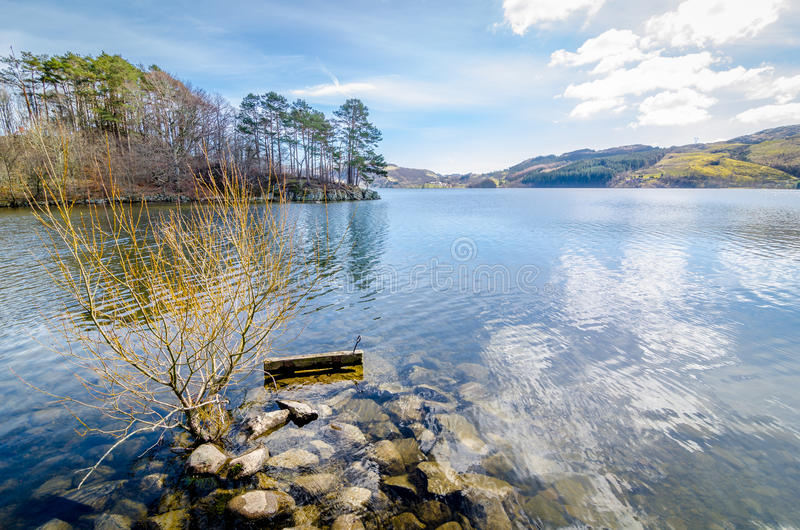 Η άποψη της Νορβηγίας στοκ φωτογραφίες με δικαίωμα ελεύθερης χρήσης