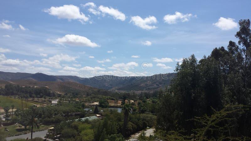 Η άποψη των montains του califorina στοκ φωτογραφίες με δικαίωμα ελεύθερης χρήσης