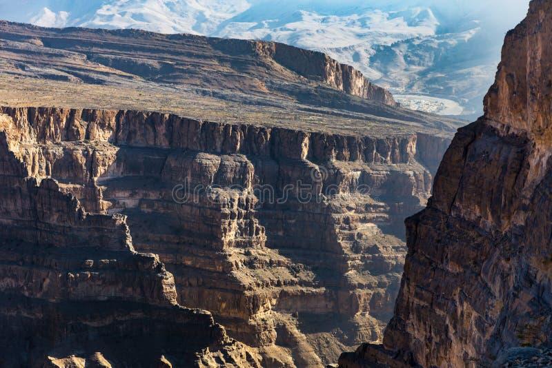 Η άποψη Jebel υποκρίνεται στο Ομάν στοκ εικόνες με δικαίωμα ελεύθερης χρήσης