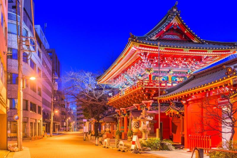 Η λάρνακα Τόκιο Kanda στοκ εικόνα με δικαίωμα ελεύθερης χρήσης