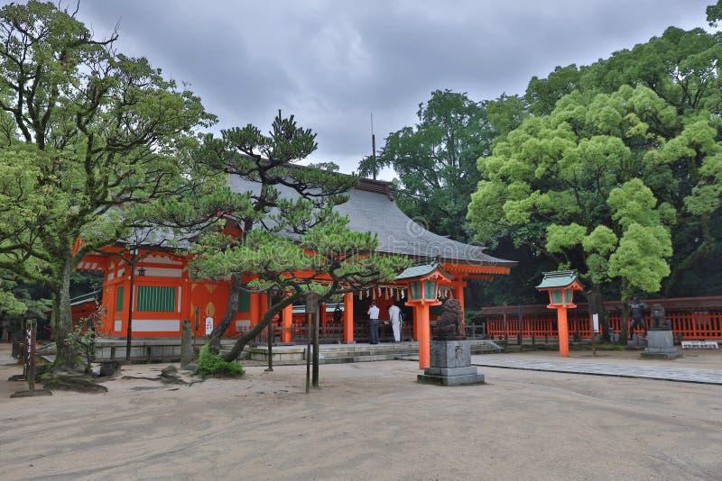 Η λάρνακα Φουκουόκα, Ιαπωνία Sumiyoshi στοκ φωτογραφία με δικαίωμα ελεύθερης χρήσης
