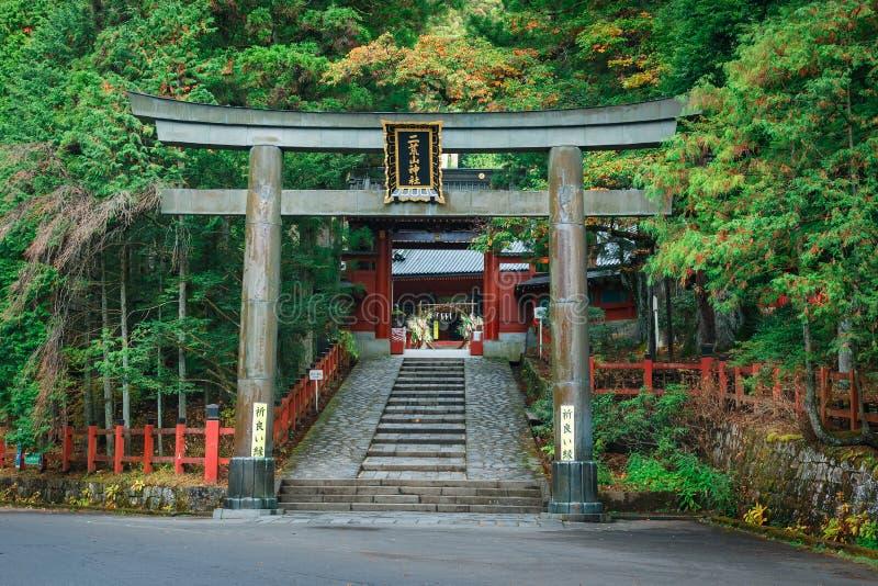 Η λάρνακα Futarasan Nikko σε NIkko, Ιαπωνία στοκ φωτογραφία με δικαίωμα ελεύθερης χρήσης