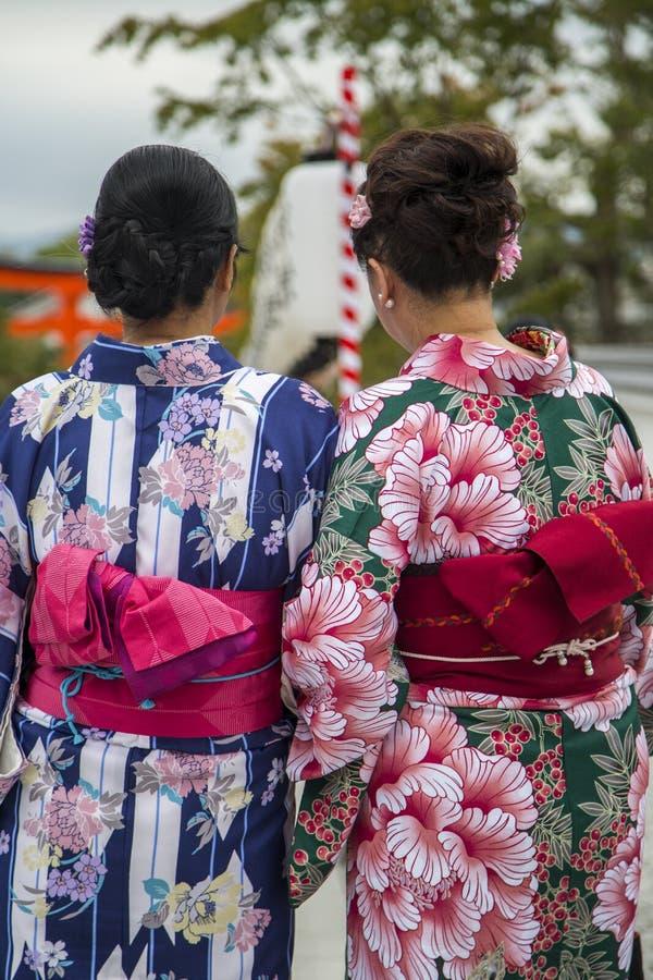 Η λάρνακα Inari Fushimi στο Κιότο, Ιαπωνία στοκ εικόνες με δικαίωμα ελεύθερης χρήσης