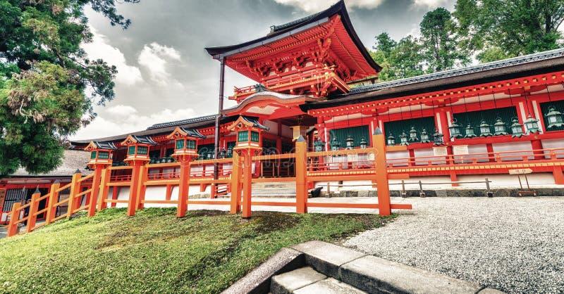 Η λάρνακα Kasuga στο Νάρα, Ιαπωνία στοκ εικόνες