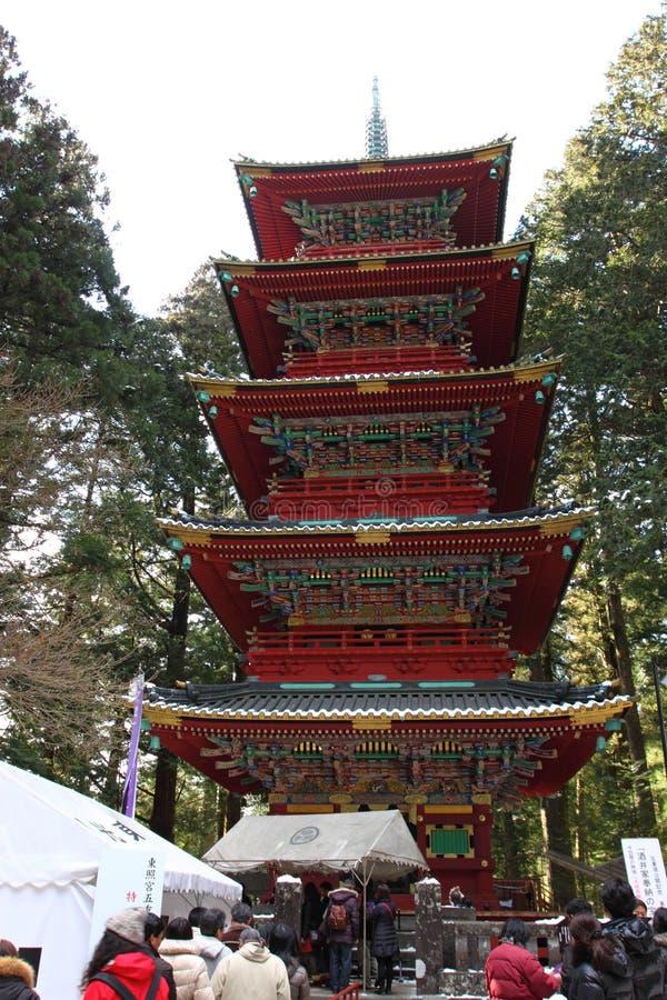 Η λάρνακα Toshogu σε Nikko, Ιαπωνία στοκ εικόνες με δικαίωμα ελεύθερης χρήσης