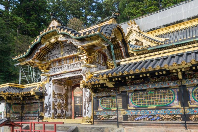 Η λάρνακα Toshogu σε Nikko στοκ φωτογραφία