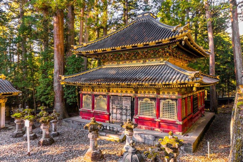 Η λάρνακα Toshogu, Nikko, Ιαπωνία στοκ φωτογραφίες