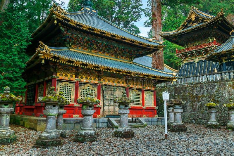 Η λάρνακα Toshogu Nikko σε Nikko, Ιαπωνία στοκ φωτογραφίες