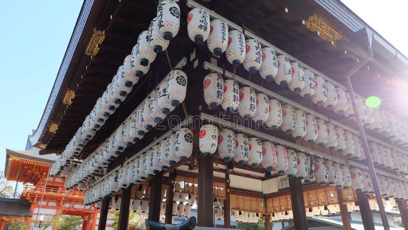 Η λάρνακα Yasaka, Gion, Κιότο στοκ εικόνες