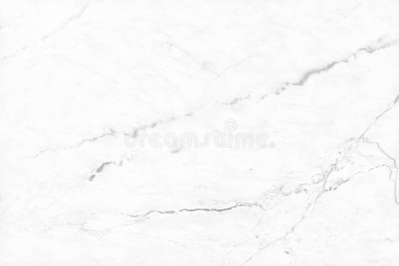 Η άσπρη γκρίζα μαρμάρινη σύσταση με τη υψηλή ανάλυση, πολυτελής άνευ ραφής του υποβάθρου πετρών στο φυσικό σχέδιο για τα κεραμίδι στοκ εικόνα