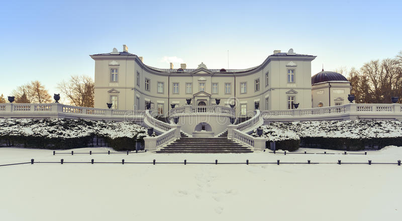 Ηλέκτρινο μουσείο Λιθουανία Palanga στοκ φωτογραφία