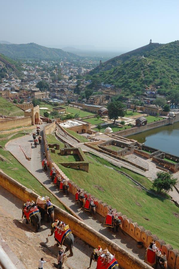 Ηλέκτρινο οχυρό, Ινδία στοκ εικόνα με δικαίωμα ελεύθερης χρήσης