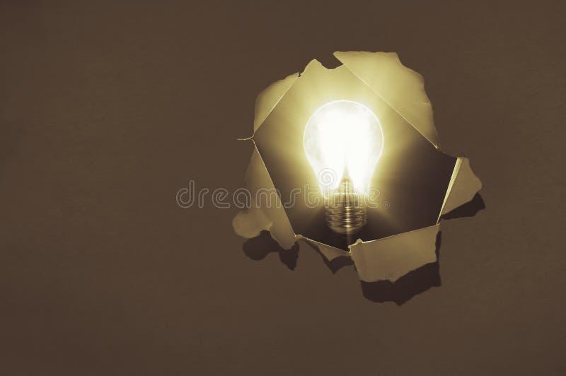 Η έννοια μιας νέας ιδέας στοκ φωτογραφία με δικαίωμα ελεύθερης χρήσης