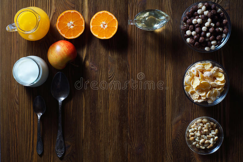 Η έννοια μιας υγιεινής διατροφής στοκ φωτογραφία με δικαίωμα ελεύθερης χρήσης