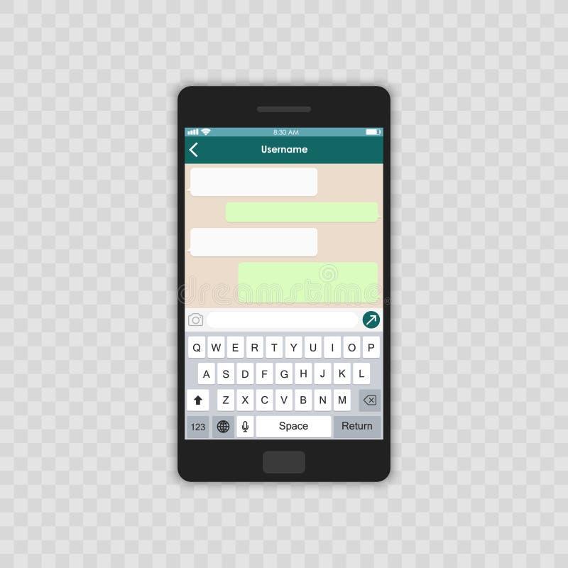η έννοια παρήγαγε ψηφιακά γεια το δίκτυο RES εικόνας κοινωνικό κενό πρότυπο αφηρημένο διανυσματικό παράθυρο αγγελιοφόρων απεικόνι διανυσματική απεικόνιση