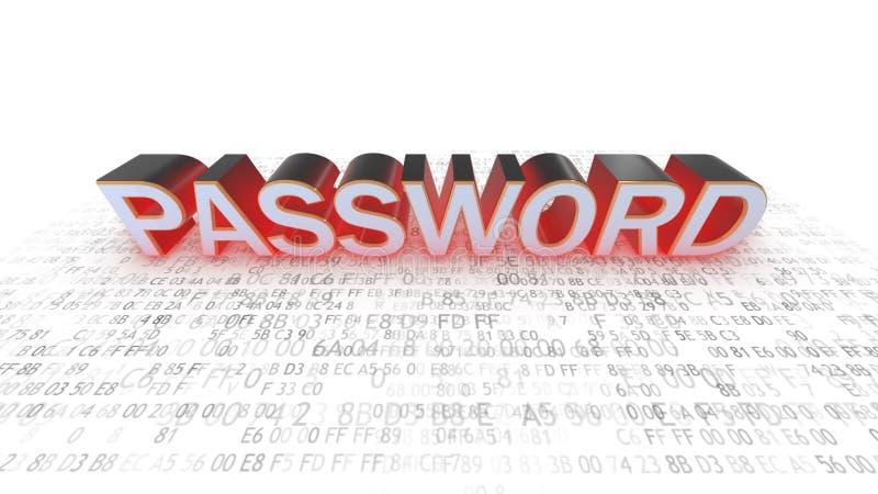 Η έννοια της προστασίας κωδικού πρόσβασης πληκτρολογέστε τον προσωπικό κωδικό διανυσματική απεικόνιση