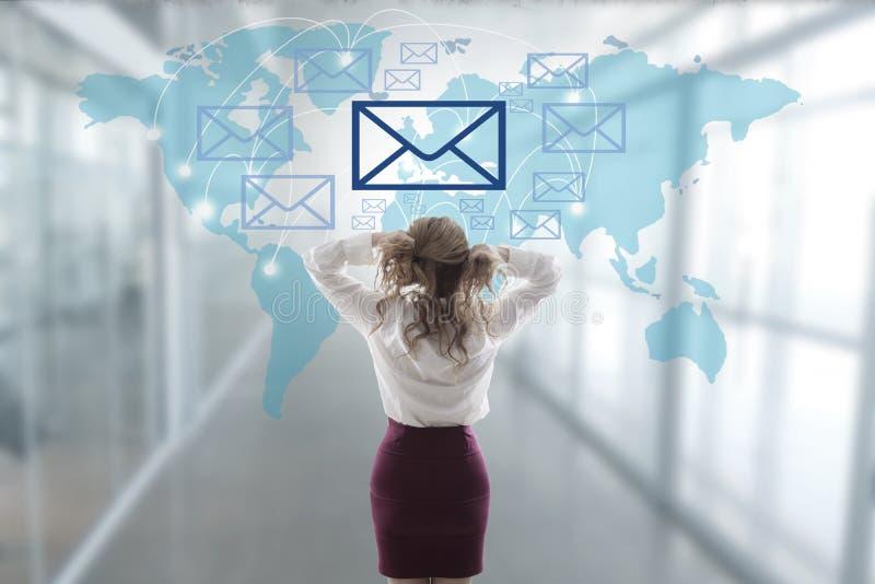 Η έννοια του spam στοκ φωτογραφία με δικαίωμα ελεύθερης χρήσης