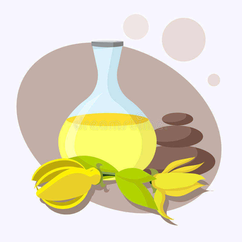 Η έννοια aromatherapy και της SPA απεικόνιση αποθεμάτων