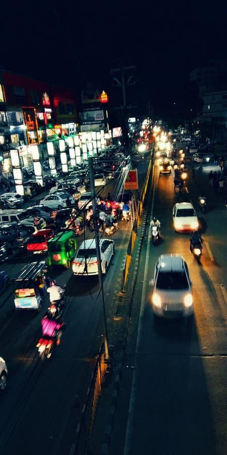 Η έξυπνη πόλη είναι πολύ όμορφη στοκ φωτογραφίες με δικαίωμα ελεύθερης χρήσης