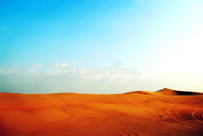 Η έρημος στοκ φωτογραφίες με δικαίωμα ελεύθερης χρήσης