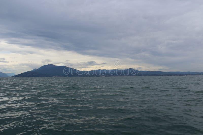 Η λίμνη Garda στοκ εικόνες με δικαίωμα ελεύθερης χρήσης