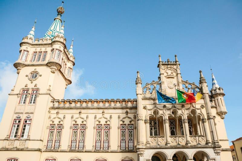 Η αίθουσα πόλεων Sintra στοκ φωτογραφία με δικαίωμα ελεύθερης χρήσης