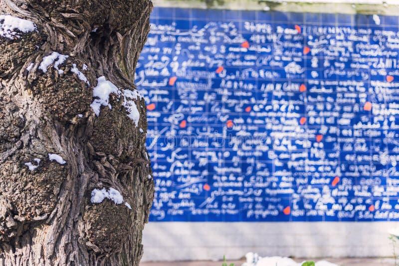 Η αγάπη είναι μια καθολική γλώσσα στοκ φωτογραφίες με δικαίωμα ελεύθερης χρήσης