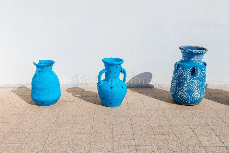 Η αγγειοπλαστική της αρχαίας πόλης Kairouan, Τυνησία στοκ φωτογραφία με δικαίωμα ελεύθερης χρήσης