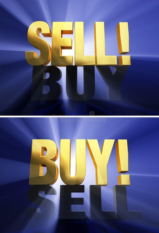 Η αγορά αντέχει εναντίον των Δελτίων διανυσματική απεικόνιση