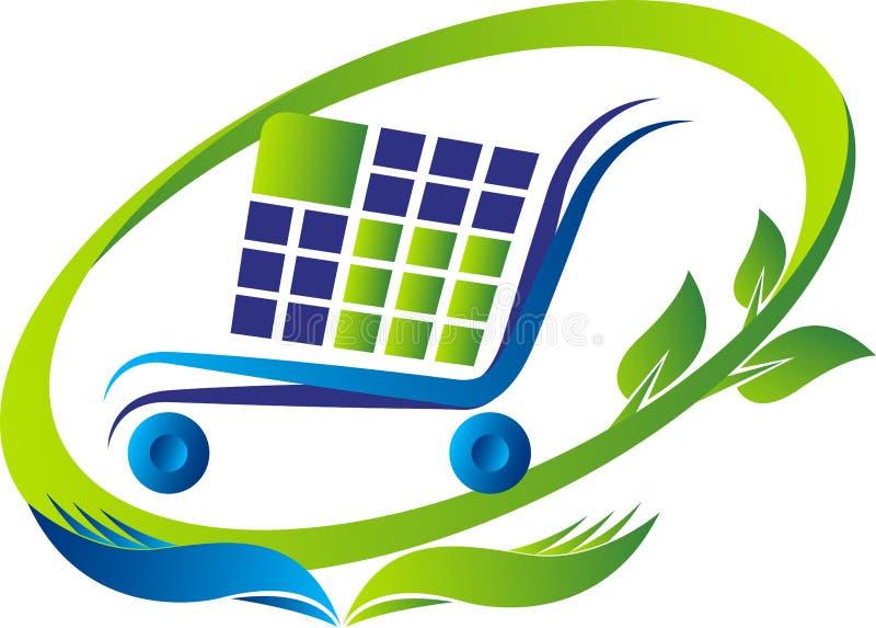 Η αγορά και σώζει το λογότυπο απεικόνιση αποθεμάτων