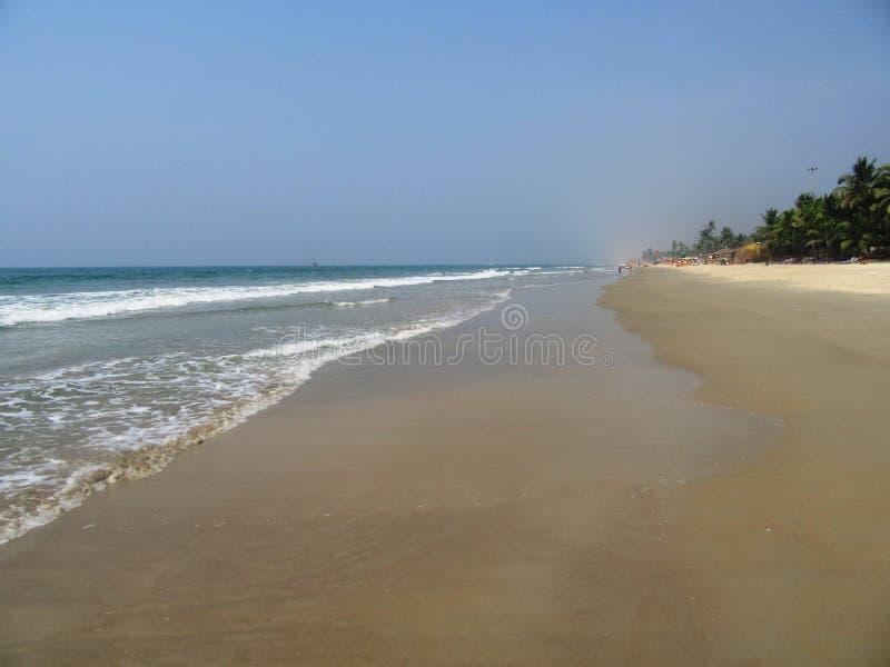 Η ακτή και οι παραλίες Goa στοκ εικόνες με δικαίωμα ελεύθερης χρήσης