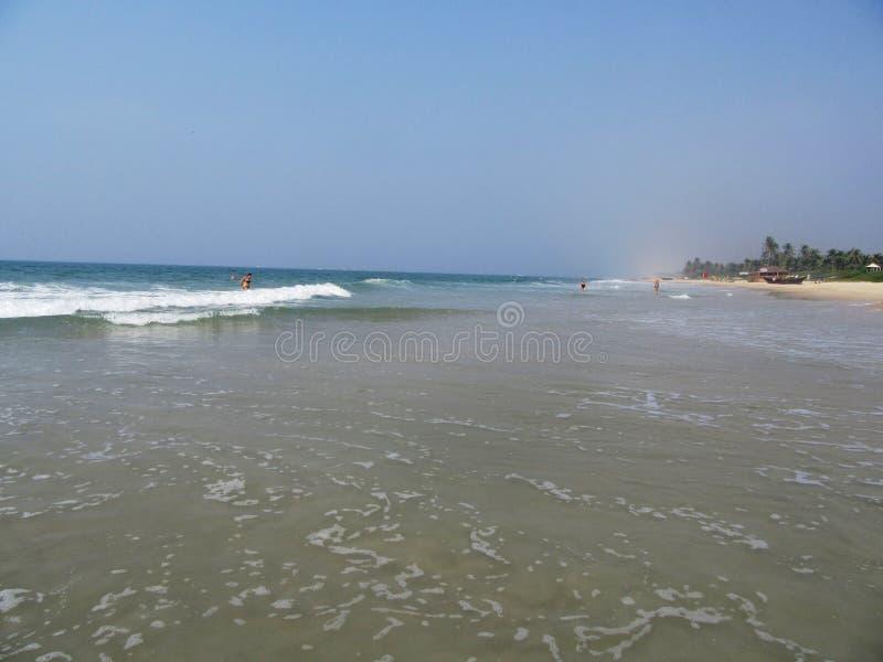 Η ακτή και οι παραλίες Goa στοκ φωτογραφίες με δικαίωμα ελεύθερης χρήσης