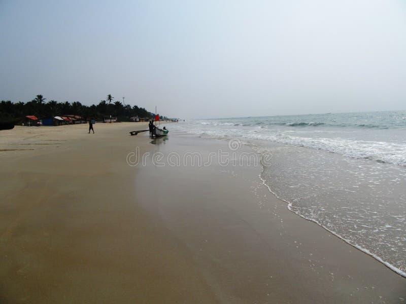Η ακτή και οι παραλίες Goa στοκ φωτογραφία με δικαίωμα ελεύθερης χρήσης