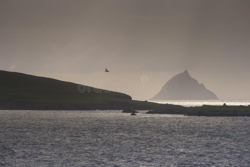 Η ακτή ο βόρειος Ατλαντικός Ωκεανός, Ιρλανδία στοκ εικόνες