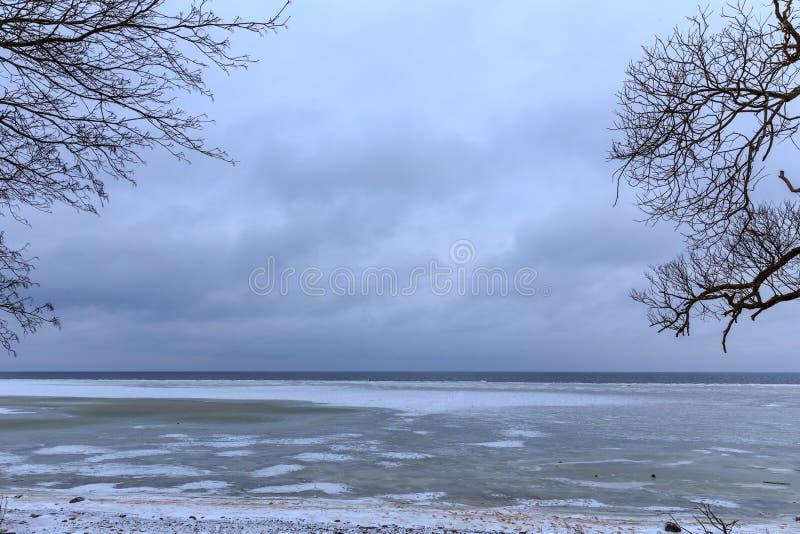 Η ακτή της θάλασσας της Βαλτικής στοκ φωτογραφία