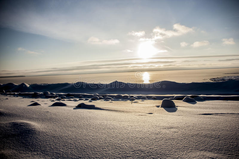 Η ακτή της θάλασσας της Βαλτικής στοκ φωτογραφία με δικαίωμα ελεύθερης χρήσης
