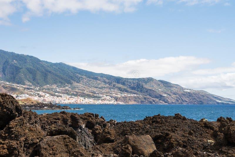 Η ακτή του νησιού του Λα Palma στοκ εικόνα με δικαίωμα ελεύθερης χρήσης
