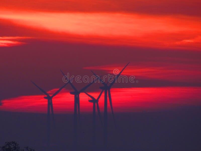 Η ακόμα κόκκινη Dawn στοκ εικόνα με δικαίωμα ελεύθερης χρήσης