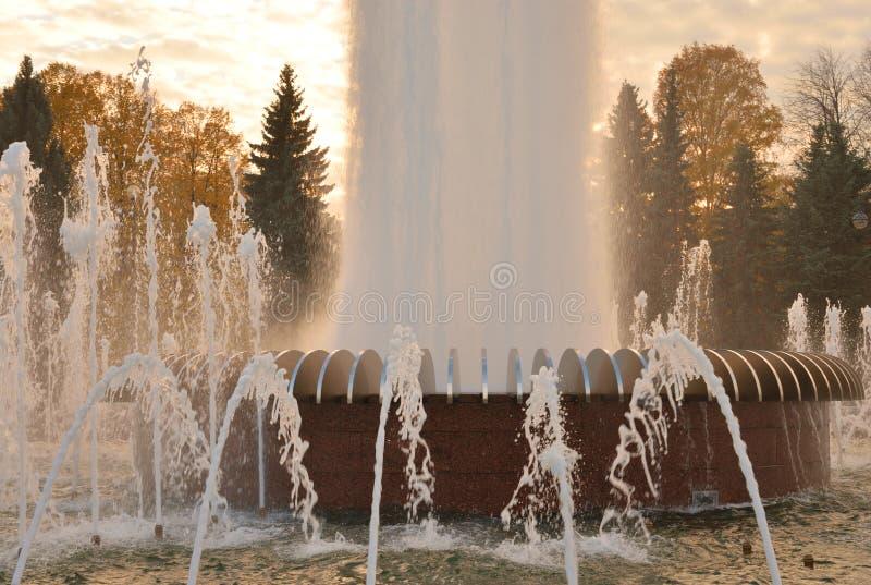 Η ανάβλυση του νερού μιας πηγής στοκ φωτογραφία με δικαίωμα ελεύθερης χρήσης
