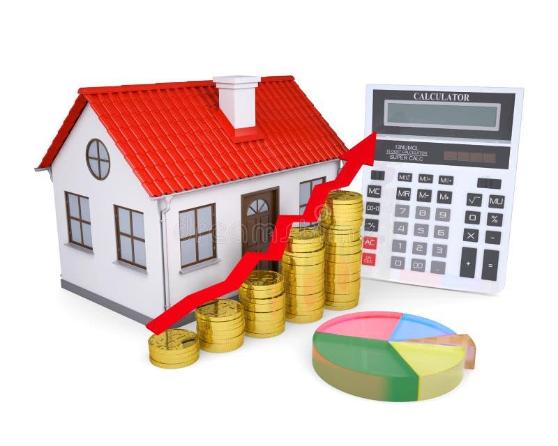 Η ανάπτυξη των τιμών ιδιοκτησίας απεικόνιση αποθεμάτων