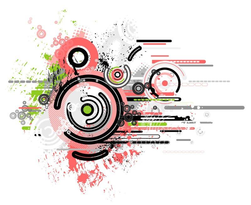 η ανασκόπηση διαμορφώνει το διάνυσμα διανυσματική απεικόνιση