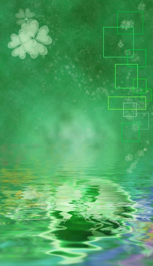 η ανασκόπηση ημέρα Πάτρικ s ST διανυσματική απεικόνιση