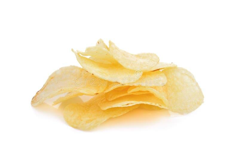 η ανασκόπηση πελεκά το λευκό σειράς πατατών παλιοπραγμάτων εικόνας τροφίμων στοκ φωτογραφίες