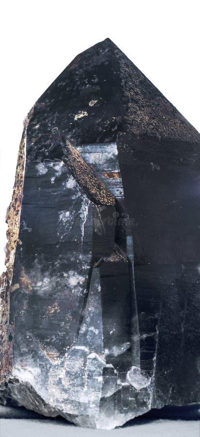 η ανασκόπηση τοποθετεί το καπνώές λευκό τρία χαλαζία στοκ φωτογραφίες