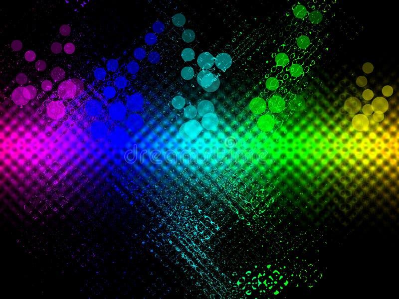 η ανασκόπηση χρωματίζει το ουράνιο τόξο στοκ εικόνα