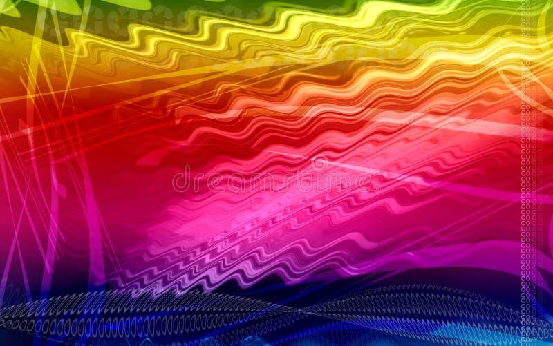 η ανασκόπηση χρωματίζει ψη&ph ελεύθερη απεικόνιση δικαιώματος