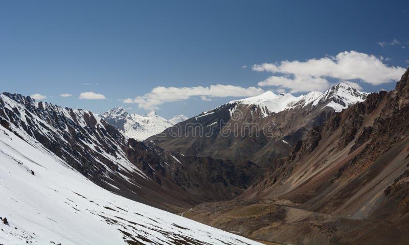 Η ανώτερη κοιλάδα Barskoon Επαρχία issyk-Kul Κιργιστάν στοκ εικόνες