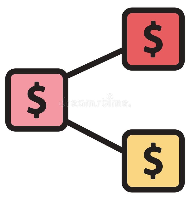 Η αξία νομίσματος απομόνωσε τα διανυσματικά εικονίδια που μπορούν να τροποποιηθούν εύκολα ή να εκδώσουν ελεύθερη απεικόνιση δικαιώματος