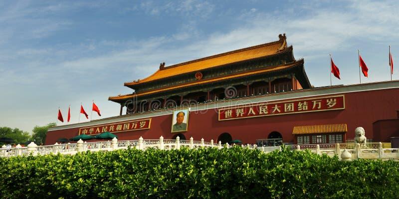 Η απαγορευμένη πόλη στο Πεκίνο στοκ εικόνες
